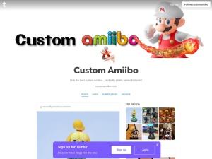Custom Amiiboのスクリーンショット