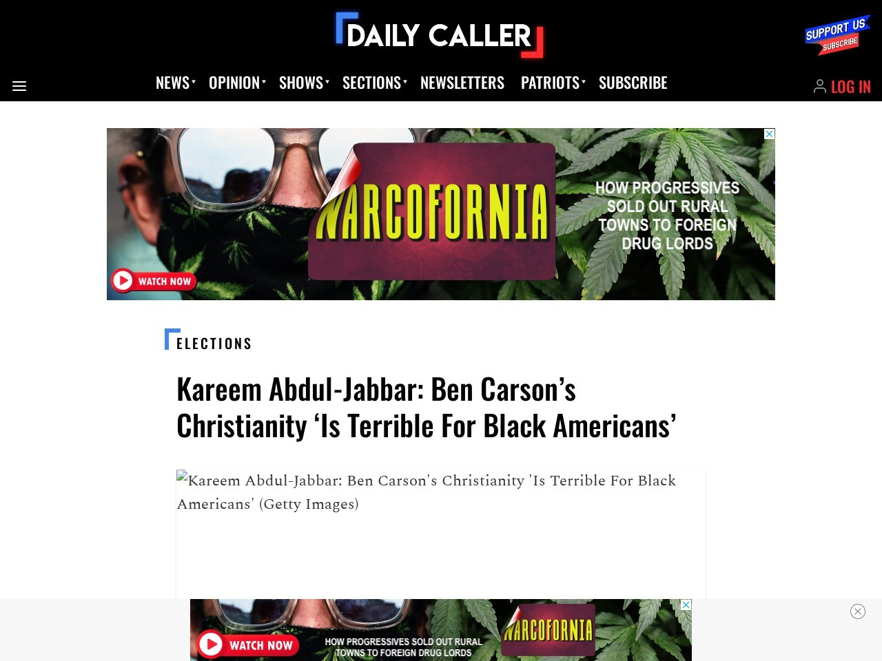 Ben Carson's Christianity 'Is Terrible For Black Americans'