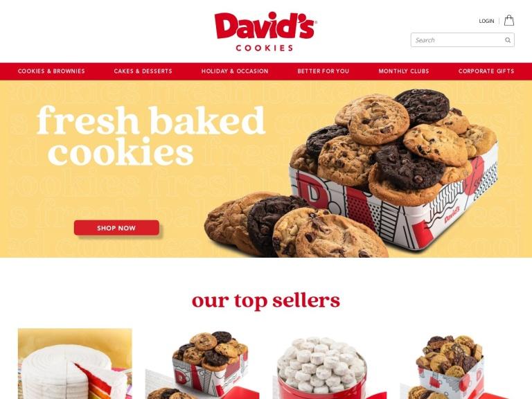 Davids Cookies Coupon Codes