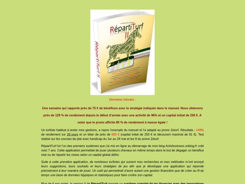 gestion financiere repartiturf 2.0