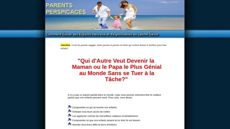 parents perspicaces - comment elever des enfants