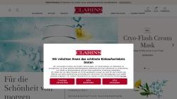 de.clarins.com Vorschau, Clarins Kosmetikprodukte