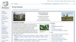 de.wikipedia.org Vorschau, Saarland bei Wikipedia
