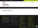 Residential Painting Services Dubai