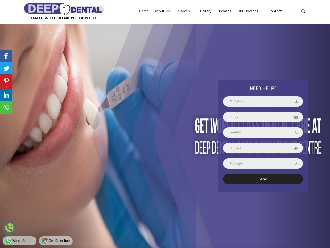 Deep Dental Care & Treatment Centre : Surgical Wisdom Tooth Extraction | Best Dentist in Faridabad