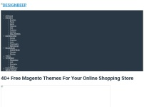 40+ Free Magento Themes For Your Online Shopping Store