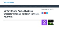 65 Very Useful Adobe Illustrator Character Tutorials To Help You Create Your Own