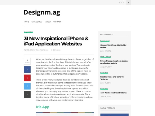 http://designm.ag/inspiration/31-new-inspirational-iphone-ipad-application-websites/#more-143040