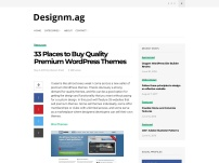 33 Places to Buy Quality Premium WordPress Themes