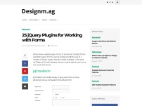 25 jQuery Plugins for Working with Forms