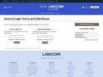 Legal Dictionary   Law.com