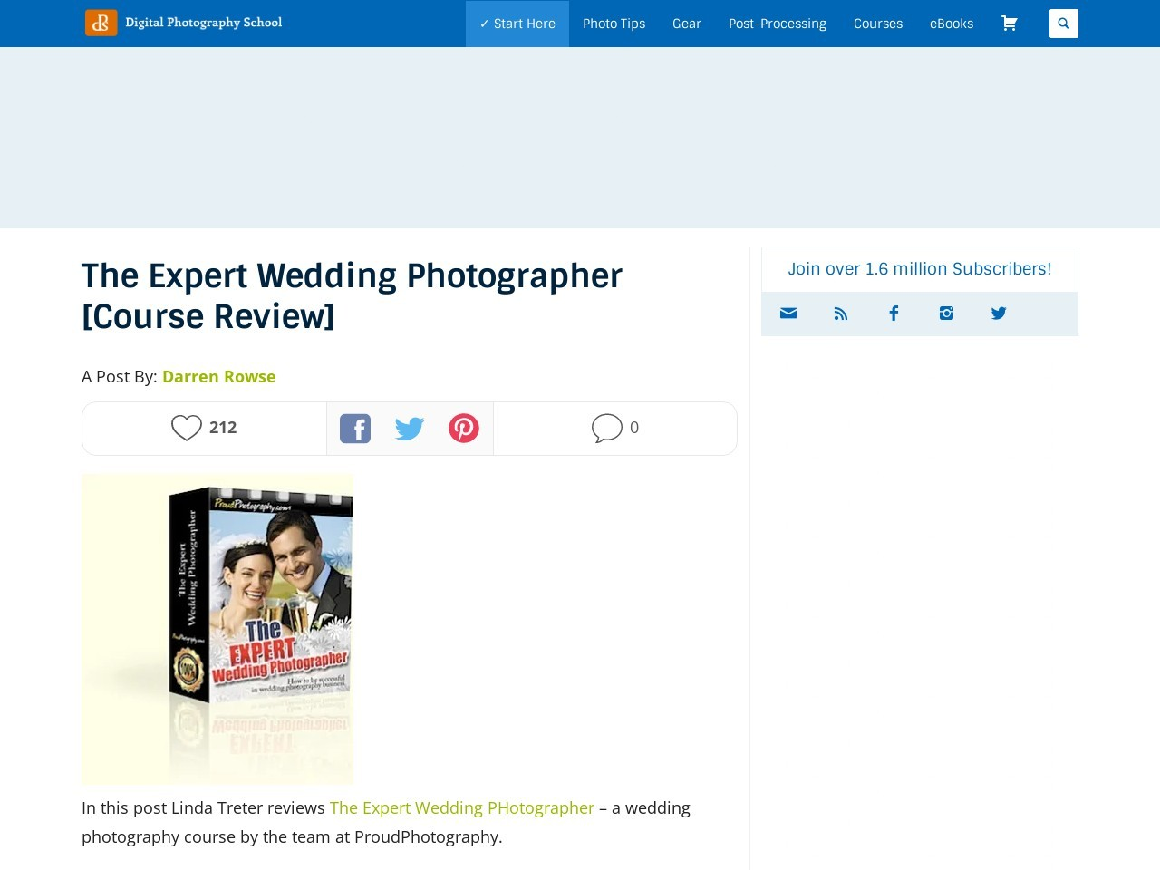 The Expert Wedding Photographer [Course Review] – Digital …