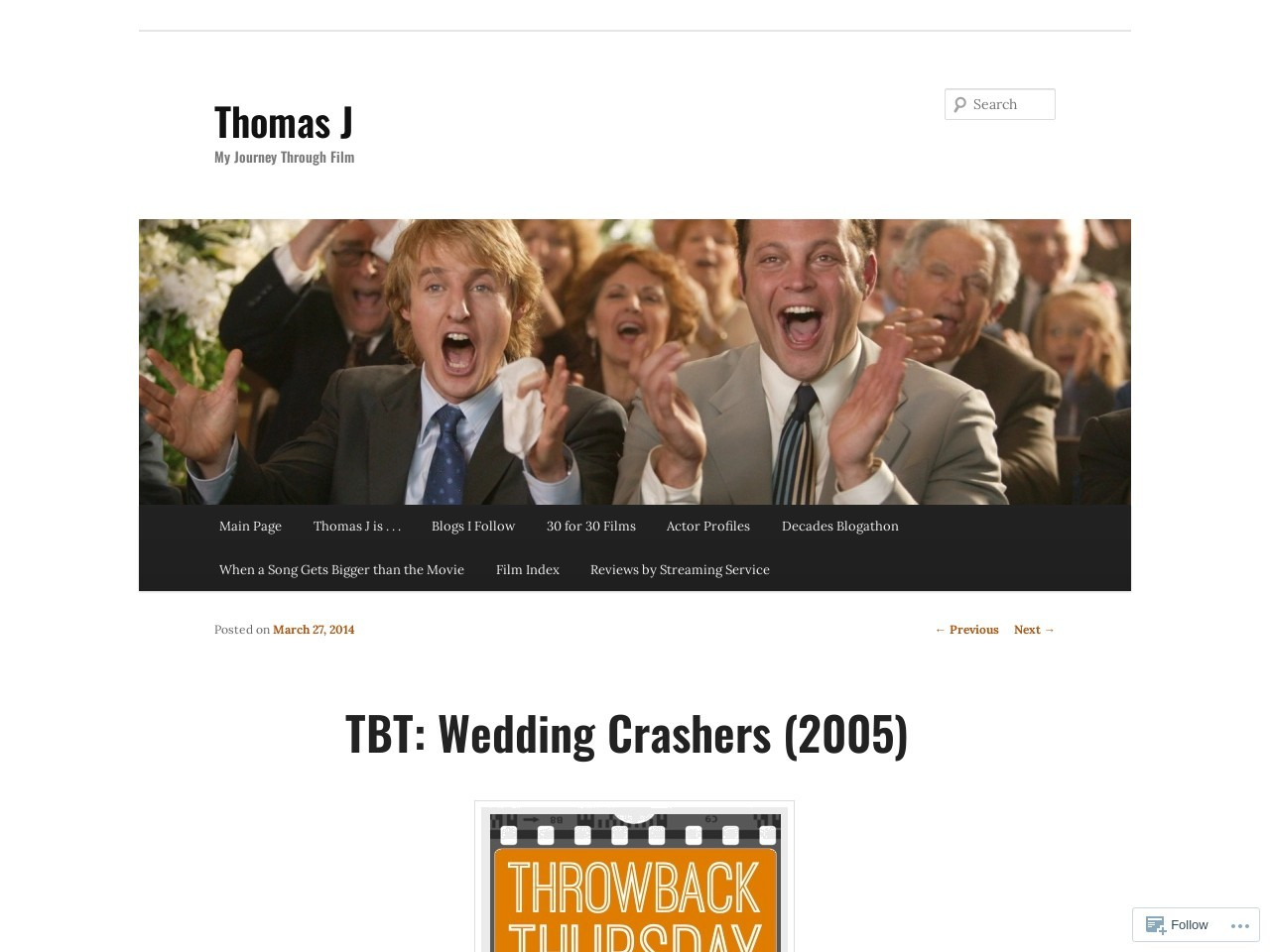 TBT: Wedding Crashers (2005) | digitalshortbread