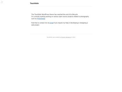 http://dimsemenov.com/themes/touchfolio/installation.html