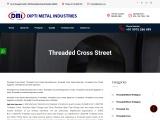 Threaded Cross Street Manufacturers in Mumbai
