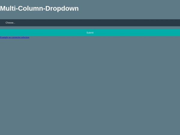 http://djsmithme.github.io/Multi-Column-Select/