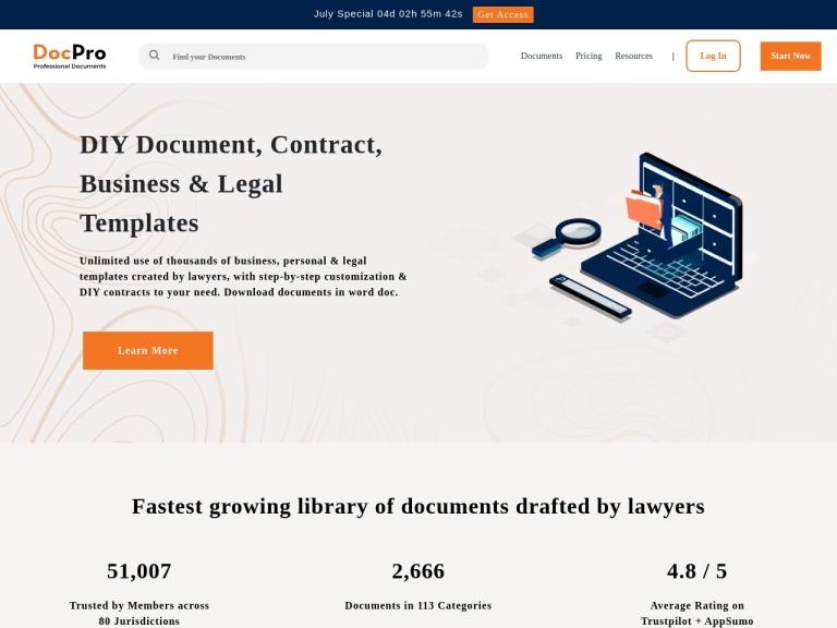 DocPro screenshot