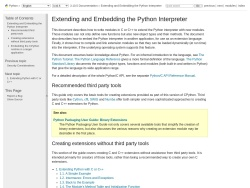 Extending and Embedding the Python Interpreter