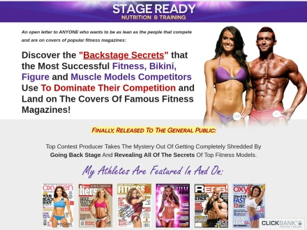 Stage Ready Nutriton & Training