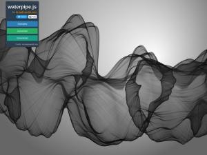 Smoky Backgrounds Generator - waterpipe.jsのスクリーンショット