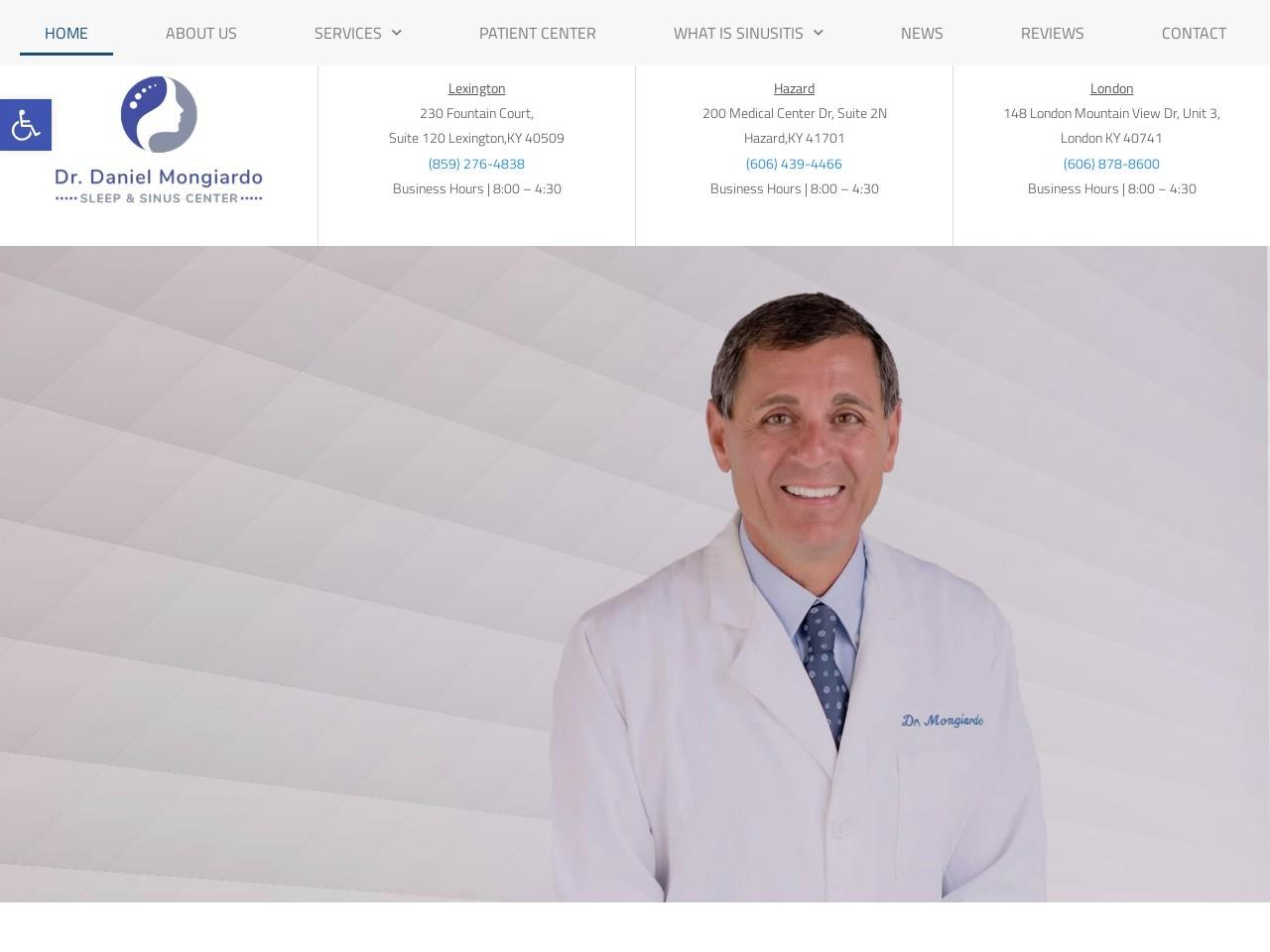 drmongiardo.com screenshot