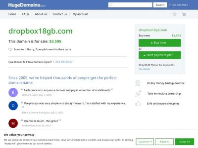 Dropbox18gb.com
