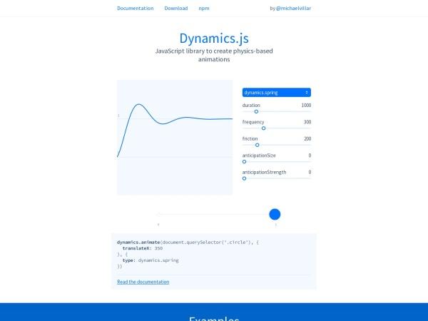 http://dynamicsjs.com/