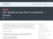 20+ Ready to Use Auto Completion Scripts