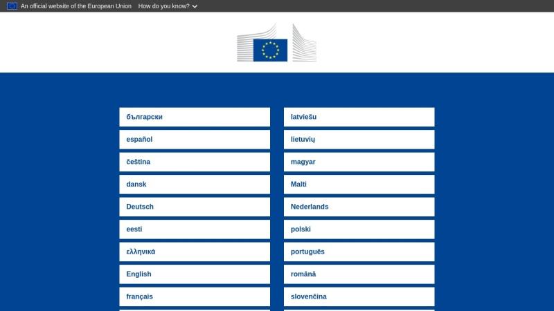 ec.europa.eu Vorschau, Die Europäische Kommission