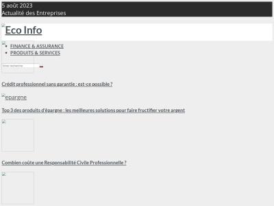Eco-Info.pro - L'annuaire des entreprises et de l'économie