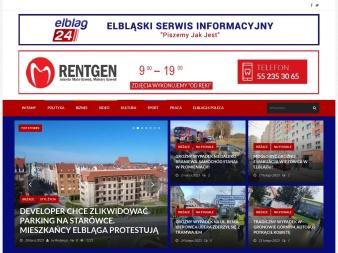 elblag24.pl screenshot