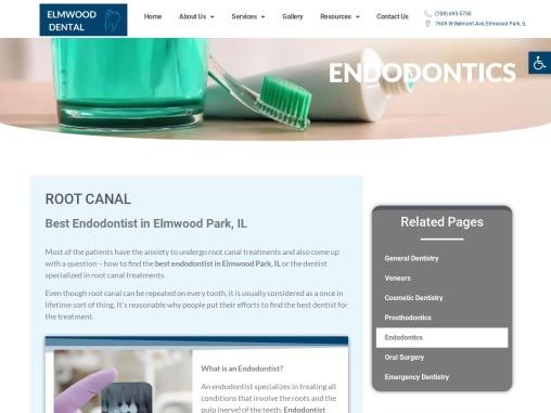 Root Canal Elmwood Park IL   Endodontics Elmwood Park IL