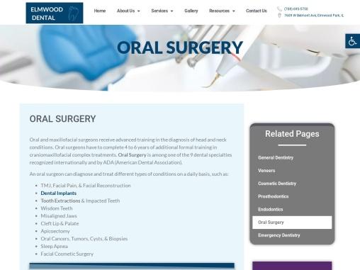 Oral Surgery Elmwood Park IL   Tooth Extractions Elmwood Park