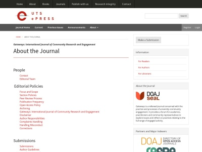 http://epress.lib.uts.edu.au/journals/index.php/ijcre/about