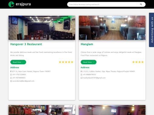 List of top restaurants in Rajpura