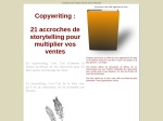COPYWRITING  21 ACCROCHES DE STORYTELLING