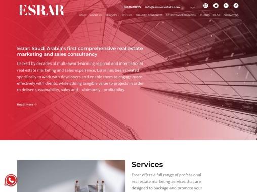 Branded residences service from esrarrealestate