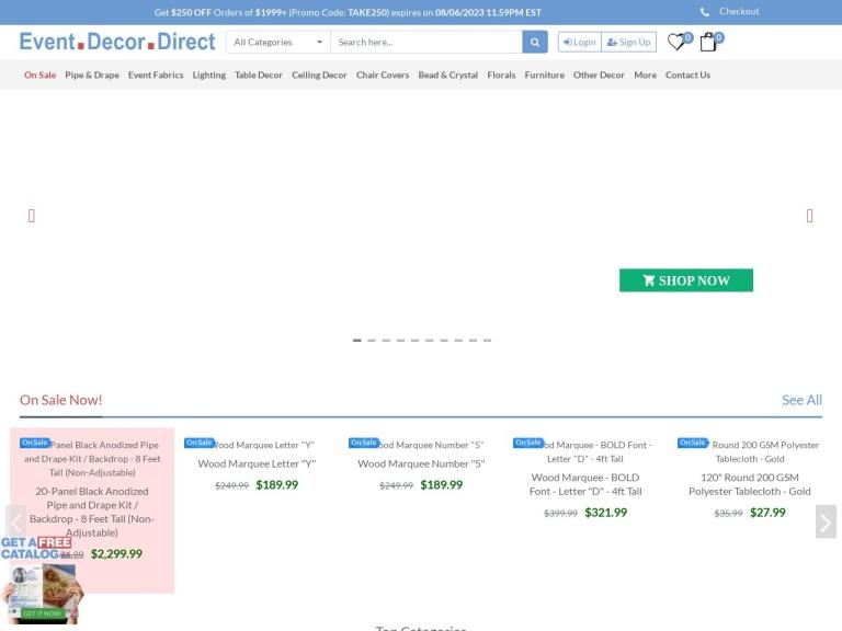 EventDecorDirect screenshot