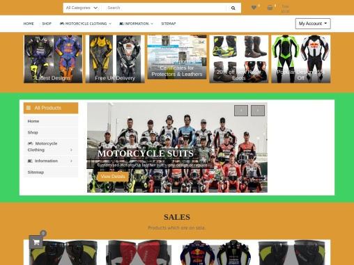 Shop Now High-Quality Motorcycle Jackets for Men | Eviron Sports