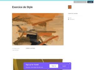 Exercice de Styleのスクリーンショット