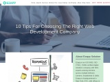 10 Tips For Choosing The Right Web Development Company