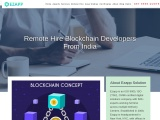 Remote Hire Blockchain Developers From India