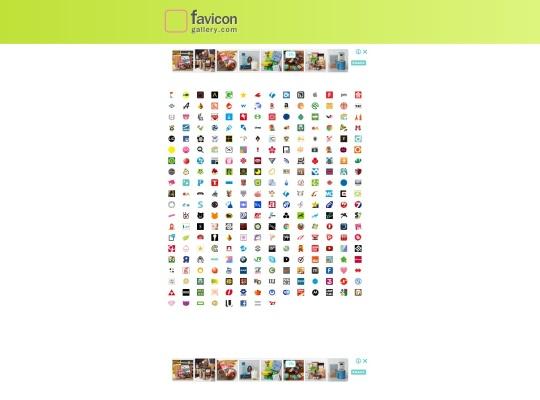 ファビコンギャラリー.com -Webサイトのファビコンを集めたサイト-