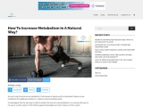 Methods And Foods To Increase Metabolism In A Natural Way