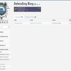 Defending ring - Final Fantasy XI Database