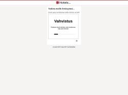 Hotels.com Finland screenshot