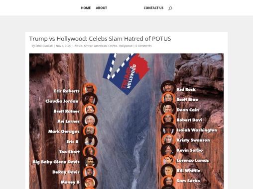 Trump vs Hollywood: Celebs Slam Hatred of POTUS