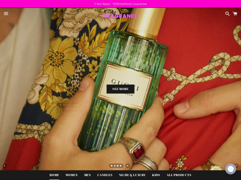 Filthy Fragrance screenshot