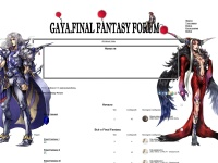 Gaya. Final Fantasy Forum