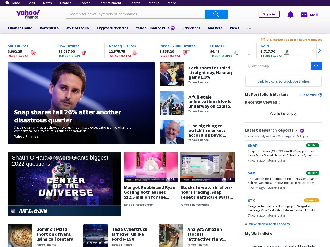 Sun Capital Partners On Yahoo! Finance